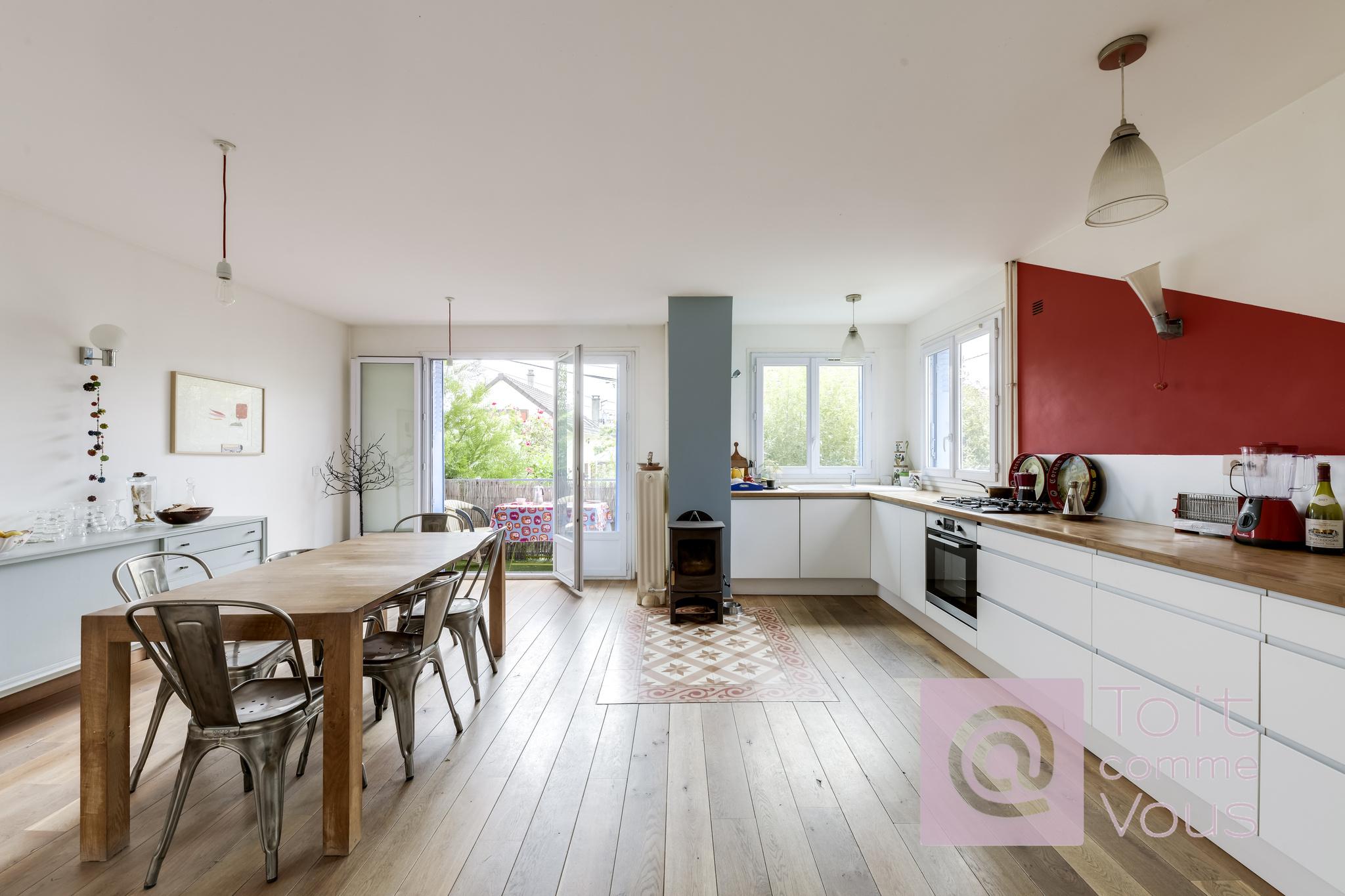 vente Maison individuelle de 163m2 avec un jardin de 140m2