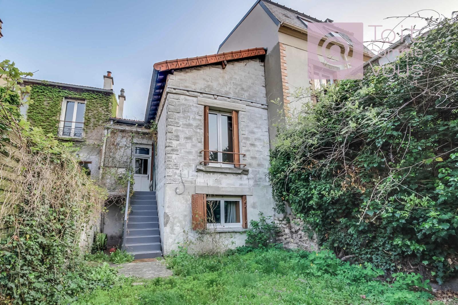 Maison 1930 avec jardin limite Vincennes